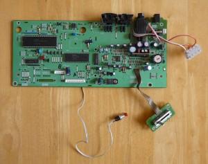 Yamaha PSR300 Circuit Board