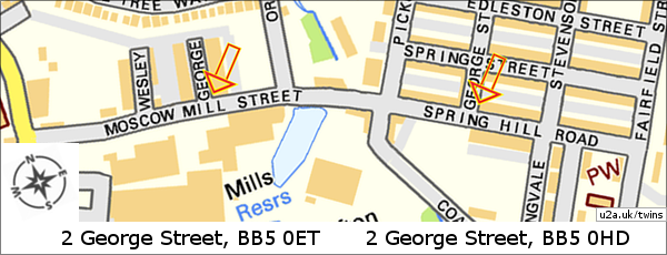Map of George Streets